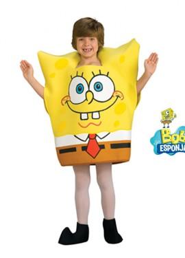 Disfraz de Bob Esponja para niños