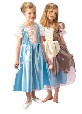 Disfraz Cenicienta Reversible Platinum para niñas