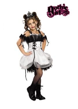Disfraz de Bella para niñas 3 a 4 años GOTHIC GIRLS