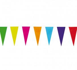 Guirlande Fanion Multicolore en Papier de 10 m