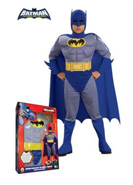 Déguisement Batman B&B Musclé pour enfants plusieurs tailles