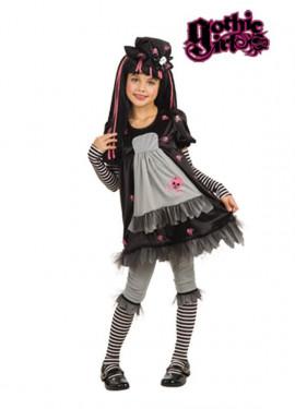 Disfraz Black Dolly niñas GOTHIC GIRLS
