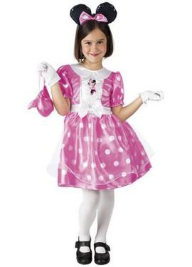 Déguisement Minnie Mouse Rose Boîte accessoires 3 à 4 ans