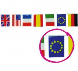 Bolsa de 50m de Bandera Internacional de 20x30cm de plástico