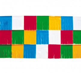 Pack de Guirlande à Franges de 25 m. en Plastique Multicolore
