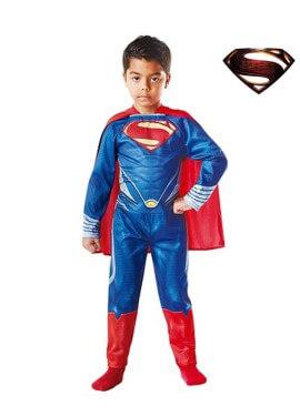 Disfraz Superman El Hombre de Acero para Niño