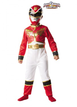 Disfraz de Power Ranger Rojo para Niño. Disponible