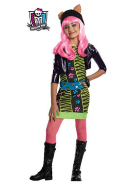 Déguisement Howleen Wolf MONSTER HIGH pour fille plusieurs tailles
