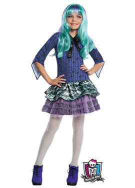 Disfraz de Twyla de las MONSTER HIGH
