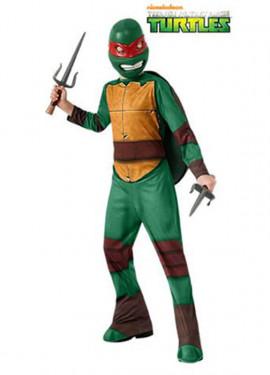 Disfraz de Raphael de las Tortugas Ninja niños
