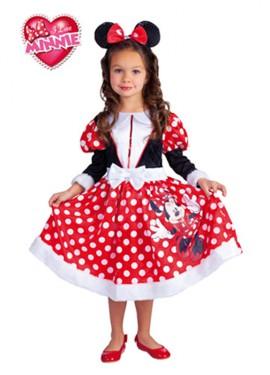 Disfraz de Minnie Mouse Winter para niñas de 3 a 4 años