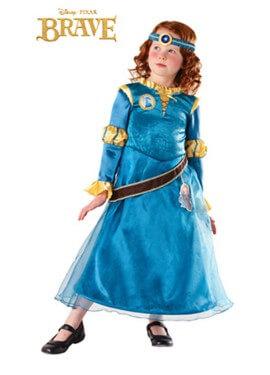 Disfraz de Mérida Deluxe para niñas