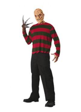 Camiseta y máscara de Freddy Krueger para hombre