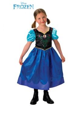 Disfraz de Anna de Frozen para Niña