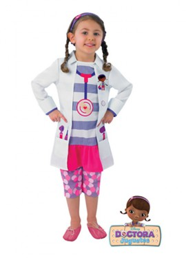 Disfraz de Doctora Juguetes Classic para niñas