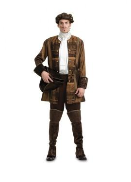 Disfraz de Príncipe gótico de lujo para hombre M-L