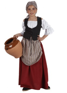 Disfraz de Mesonera para niñas