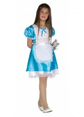 Disfraz de Alicia azul para niña