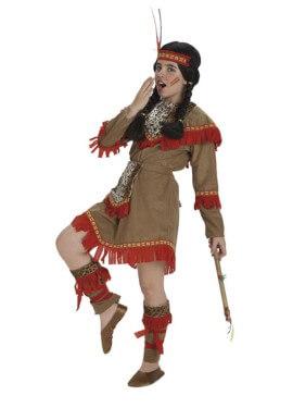 Disfraz de India lujo para niñas