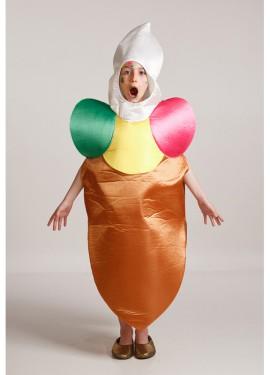 Disfraz para niños de 8 a 10 años de Helado de Cucurucho