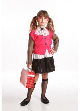 Disfraz de Monstruita rosa para niñas