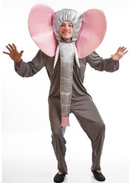 Disfraz para hombre de Elefante Gris