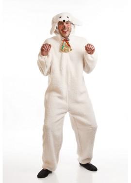 Disfraz para Navidad de Oveja blanca para adultos