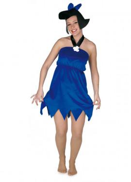 Disfraz de Betty azul para mujer