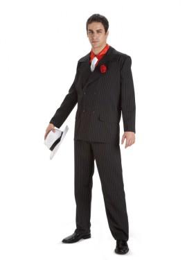 Disfraz de Ganster Alcapone para hombre