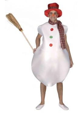 Disfraz de Muñeco de Nieve para hombre
