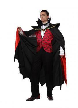 Disfraz de Vampiro rojo para hombre