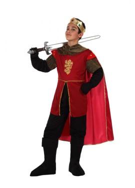Disfraz de Rey Medieval para niños