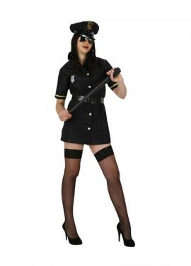 Disfraz barato Policia Sexy para mujer talla M-L