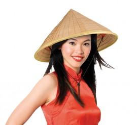 Sombrero o Gorro Oriental de paja