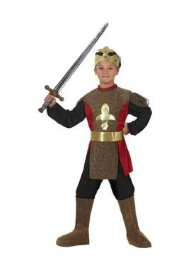 Déguisement de Chevalier médiéval pour enfants plusieurs tailles