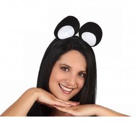 Diadema orejas de Ratón de fieltro