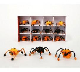 Araña pequeña con patas surtidas de 15 cm