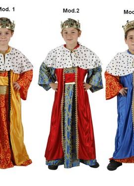 Disfraz de Rey Mago para niños de 3 a 4 años