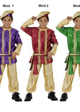 Disfraz Paje Real de los Reyes Magos 5-6 años