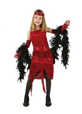 Disfraz de Charlestón para niñas