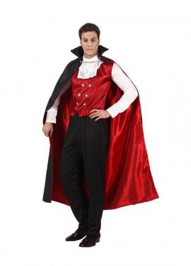 Disfraz de Vampiro o Drácula hombre para Halloween