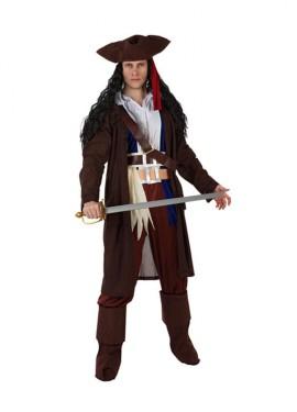 Disfraz de Pirata del Caribe para hombre