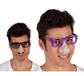 Gafas con nariz 5 modelos surtidos para Halloween