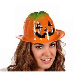Sombrero PVC Calabaza de 28x25 cm barato Halloween