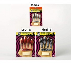 Faux Ongles Ultra Longs pour Halloween