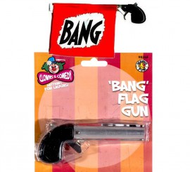 Pistola con Bandera de BANG