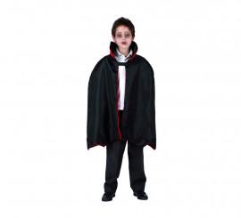 Capa de Vampiro niños para Halloween
