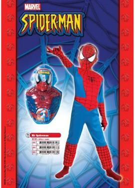 Disfraz de Spiderman 7-9 años con Luz para niño