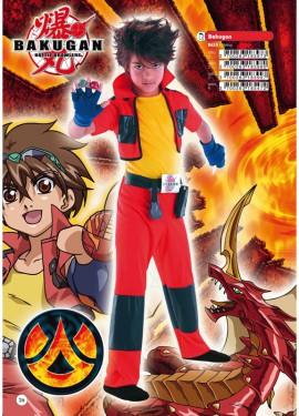 Disfraz de Bakugan para niño
