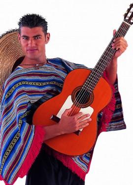 Poncho Mexicano Deluxe para hombre y mujer